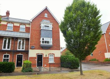 Thumbnail 4 bed end terrace house to rent in Turners Avenue, Elvetham Heath, Fleet