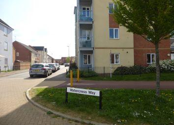 Thumbnail 1 bed flat for sale in Watercress Way, Broughton, Milton Keynes