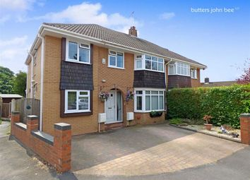 Thumbnail 4 bed semi-detached house for sale in St Chads Close, Stone, Staffordshire