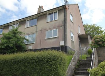 Thumbnail 2 bed flat to rent in Chestnut Avenue, Hooe, Plymouth