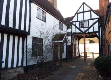 Thumbnail 2 bed terraced house for sale in Bunyans Mead, Elstow, Bedford, Bedfordshire