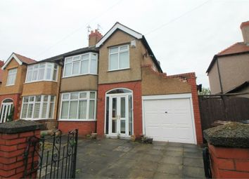 Thumbnail 3 bed semi-detached house for sale in Brentwood Avenue, Crosby, Merseyside