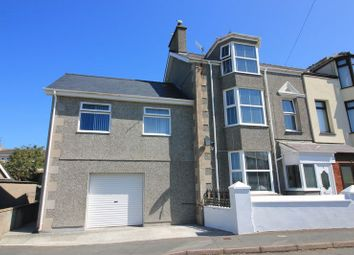 Thumbnail 5 bed semi-detached house for sale in Llanfawr Road, Holyhead