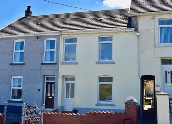 Thumbnail 3 bed terraced house for sale in Heol Bryngwili, Cross Hands, Llanelli