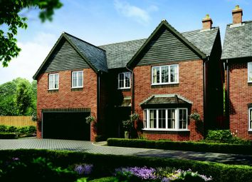 Thumbnail 5 bed detached house for sale in Plot 66 The Knightsbridge, Barley Fields, Uttoxeter