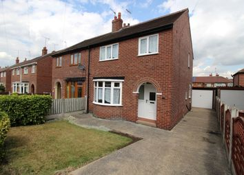 Thumbnail 3 bed semi-detached house for sale in Ashfield Street, Normanton