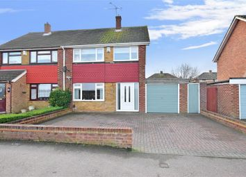 Thumbnail 3 bedroom semi-detached house for sale in Thong Lane, Gravesend, Kent