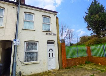 Thumbnail 2 bed end terrace house to rent in Highbury Road, Luton