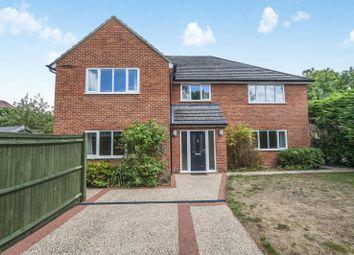Thumbnail 4 bedroom detached house to rent in Northford Close, Shrivenham, Swindon