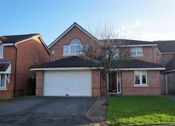 Thumbnail 4 bed detached house for sale in Moorfield Close, Preston