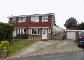 Thumbnail 3 bed semi-detached house for sale in Littlefield Close, Ash, Surrey