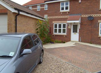 Thumbnail 1 bed town house to rent in Twigg Crescent, Armthorpe, Doncaster