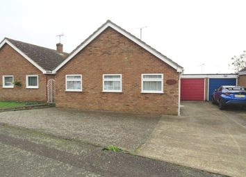 Thumbnail 3 bed detached bungalow for sale in Holmes Avenue, Raunds, Wellingborough