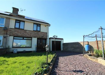 Thumbnail 2 bed semi-detached house for sale in Pill, North Somerset