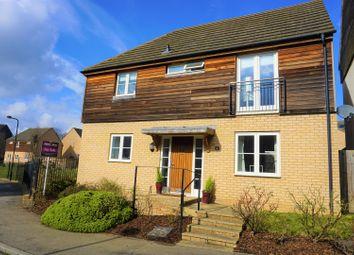 Thumbnail 4 bed detached house for sale in Newington Gate, Milton Keynes