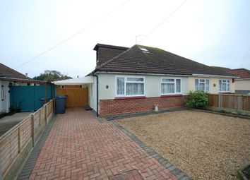 Thumbnail 3 bed semi-detached bungalow for sale in Woodman Avenue, Swalecliffe, Whitstable