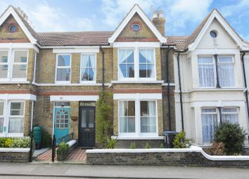 Thumbnail 3 bed terraced house for sale in Dane Hill Row, Margate