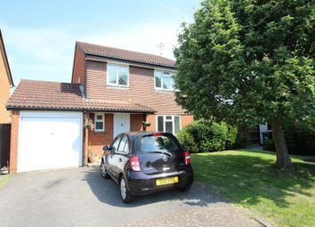Thumbnail 4 bed detached house for sale in Grasmere Close, Egham