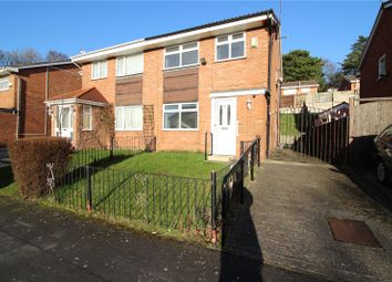 Thumbnail 3 bed semi-detached house for sale in Cross Hey Avenue, Prenton, Merseyside