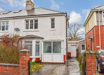 Thumbnail 3 bed semi-detached house for sale in Brynteg Avenue, Bridgend, Bridgend.