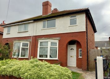 Thumbnail 3 bed semi-detached house to rent in Wembley Avenue, Blackpool