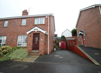 Thumbnail 3 bed semi-detached house for sale in Barban Court, Dromore
