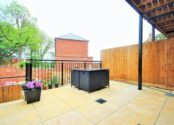 Thumbnail 4 bed terraced house to rent in Mill Hill, Engel Park, London