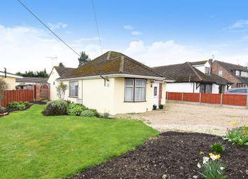 Thumbnail 3 bed detached bungalow for sale in Stonebridge Road, Steventon