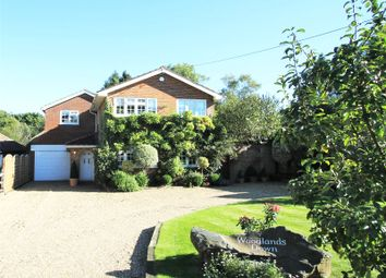 Thumbnail 5 bed detached house for sale in Paynesfield Road, Tatsfield, Westerham