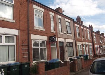 Thumbnail 3 bedroom terraced house to rent in Marlborough Road, Ball Hill, Coventry