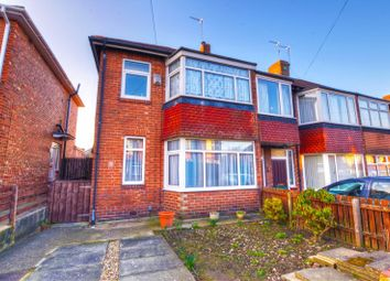 Thumbnail 2 bed semi-detached house for sale in Ovington Grove, Fenham, Newcastle Upon Tyne