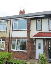 Thumbnail 2 bed terraced house to rent in Coronation Road South, Hull