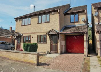 Thumbnail 3 bedroom semi-detached house for sale in Frampton Avenue, Leicester