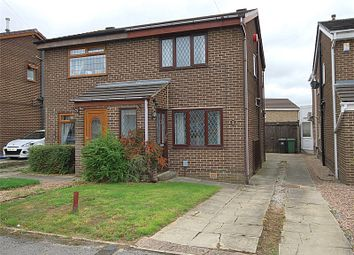 Thumbnail 2 bed semi-detached house for sale in Norman Drive, Mirfield, West Yorkshire