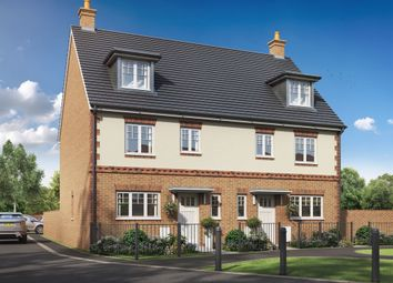 """Thumbnail 3 bed town house for sale in """"The Leicester"""" at Forge Wood, Crawley"""