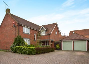 Thumbnail 4 bed detached house for sale in Bridgnorth Drive, Kingsmead, Milton Keynes