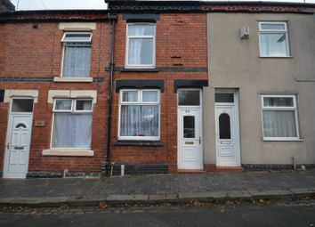 Thumbnail 2 bed terraced house to rent in Newdigate Street, Crewe