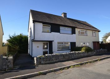 Thumbnail 3 bed semi-detached house for sale in Drakes Park, Bere Alston, Yelverton