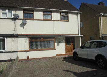 Thumbnail 3 bedroom semi-detached house for sale in Heol Trelai, Caerau, Cardiff