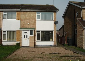 Thumbnail 2 bed semi-detached house to rent in Kincaple Road, Rusheymead, Leicester