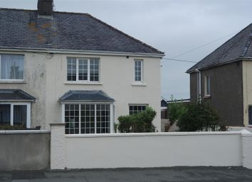 Thumbnail 3 bed semi-detached house for sale in Haven Road, Haverfordwest