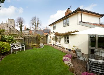 Thumbnail 3 bed semi-detached house for sale in Church Street, Fressingfield, Eye