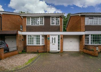Thumbnail 3 bed link-detached house for sale in Abbotswood Close, Redditch