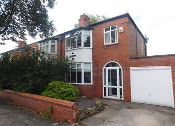 Thumbnail 3 bed semi-detached house for sale in Leyland Avenue, Gatley, Cheshire