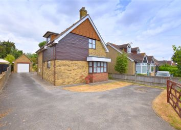 Thumbnail 3 bed detached house for sale in Upper Brighton Road, Sompting, Lancing, West Sussex