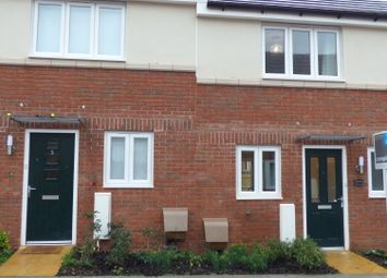 Thumbnail 2 bed end terrace house to rent in Crimson King, Cranbrook, Exeter, Devon