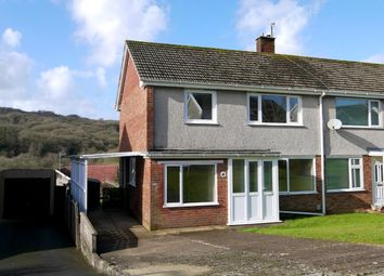 Thumbnail 3 bed semi-detached house to rent in Gwerneinon Road, Derwen Fawr, Sketty, Swansea