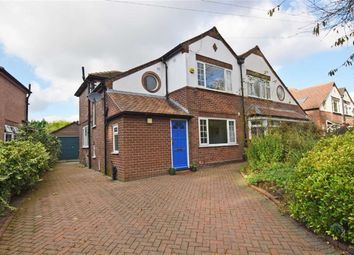 Thumbnail 3 bed semi-detached house for sale in Ford Lane, Didsbury, Manchester