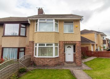 Thumbnail 3 bed semi-detached house for sale in The Ride, Kingswood, Bristol