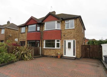 Thumbnail 3 bed semi-detached house for sale in Sandringham Drive, Spondon, Derby